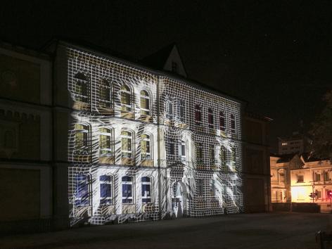 LichtRouten 2013 I Klaus Obermaier I Foto Jennifer Braun