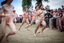 Image result for nude running