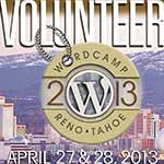 Volunteer at Reno-Tahoe WordCamp