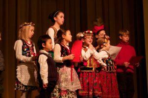 Polish choir members