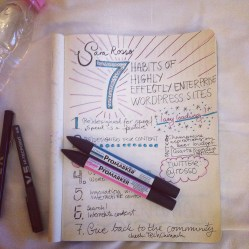 #WCEU talks sketch notes: Sara Rosso Kristin Kokkersvold, Studio Netting