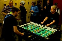And of course.... foosball at WerkPress!