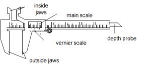 How TO Use A Vernier Caliper  1E3_Lee Xiao Ting