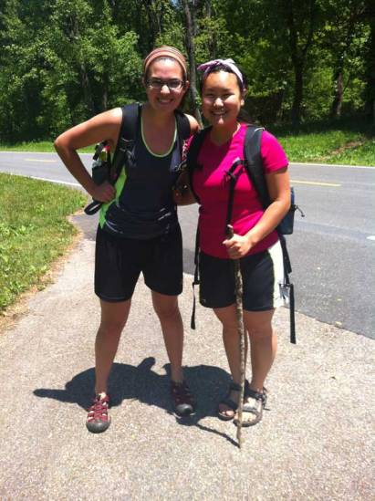Trail Angels Christina and Malinda