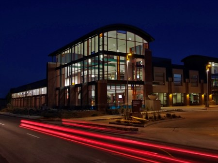 High Country Conference Center at Night