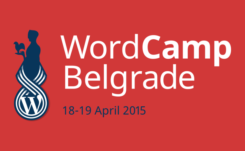 WordCamp Belgrade logo by Andrej Matić