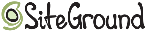 SITEGROUND new logo Black