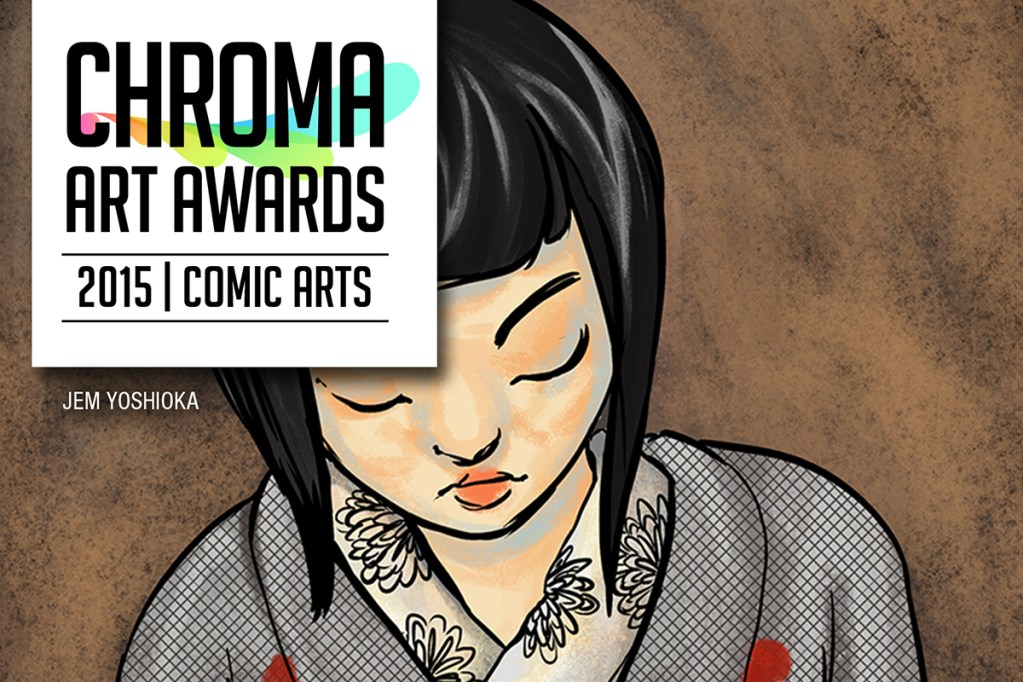 Chroma Art Awards 2015 comic Banner