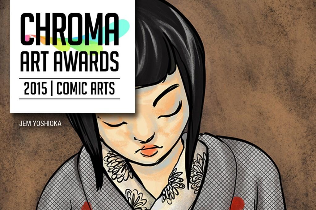 Chroma Art Awards 2015 comic Banner