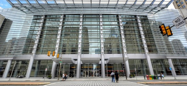 Broad Street Entrance to the PA Convention Center