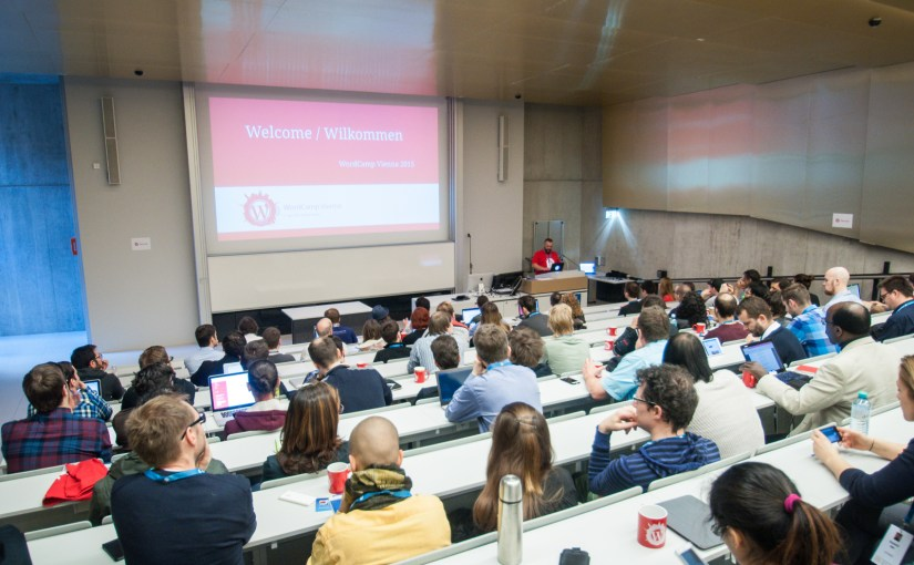 Pictures from WordCamp Vienna 2015
