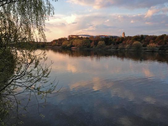 Elsterbecken; Foto: M. Geißler