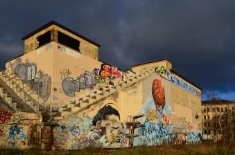 Altes Schwimmstadion; Foto: Andreas Reichelt