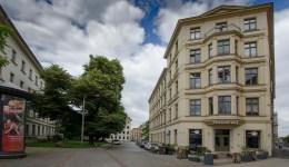 Blick in die Lortzingstraße; Foto: Andreas Reichelt