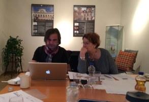 Redaktionssitzung im BV
