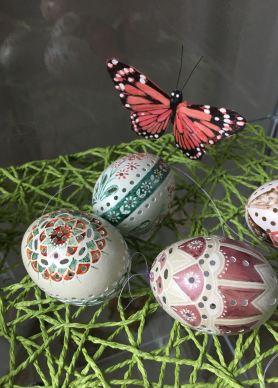 Beim Eier-Workshop mit Frau Wagenbreth, Foto: M. Geißler