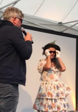 Fanny Händel mit cooler Brille, FuBuFe 2018, Foto: M. Geißler