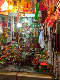 A store teeming with colourful products
