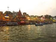 Ganga Aarti. Photo by Talia.