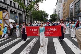 第99回福岡国際大会パレード