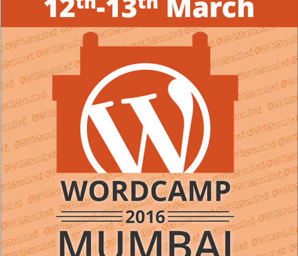 Share your Support for WordCamp Mumbai 2016 with these Official Badges