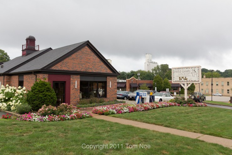 Wild Goats Cafe in Kent, Ohio