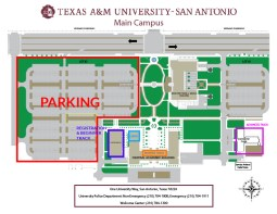 Texas A&M Campus Map