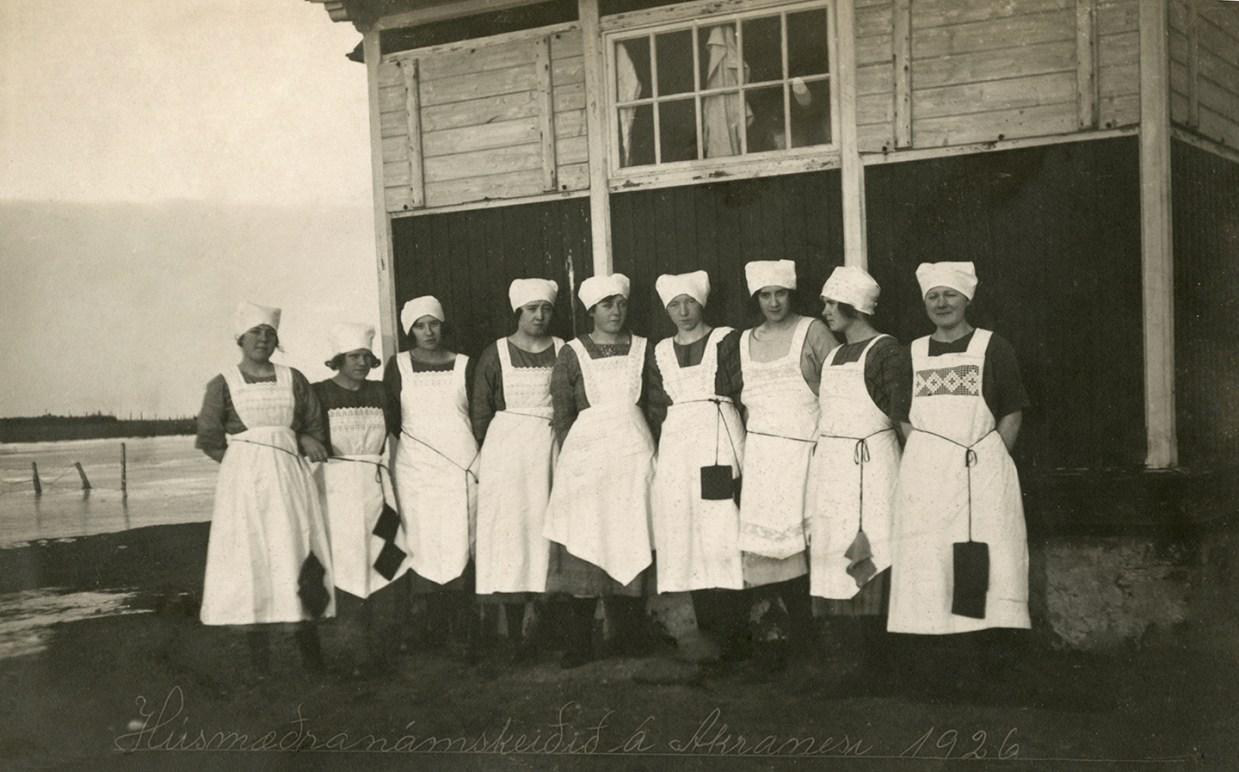 Húsmæðranámskeið á Akranesi árið 1926