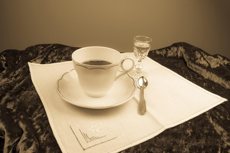 Kaffiveitingar.