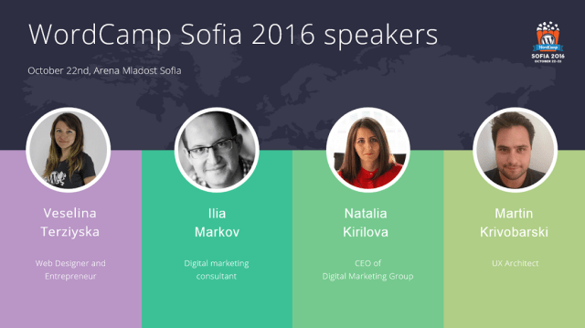 WCSof 16 speakers - group 1