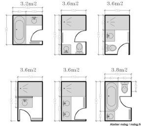 salle de bain dim