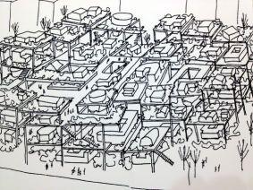 Yona Friedman's La Ville Spatiale1