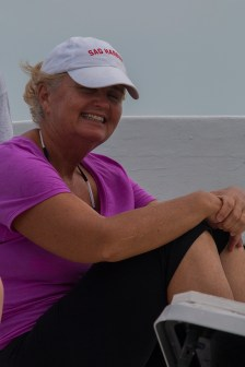 Maureen from TREC - awesome nurse and dive guide