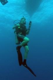 Steve SCUBA diving