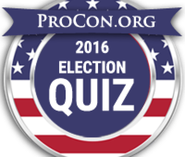 2016 Presidential Election Candidate Quiz Find Your Match