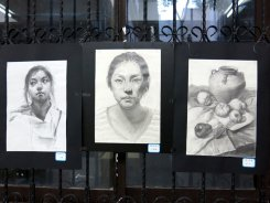 Art by the teens of Gulangyu