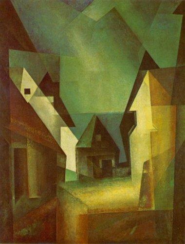 Lyonel_Feininger's_painting_'Gaberndorf_II',_1924