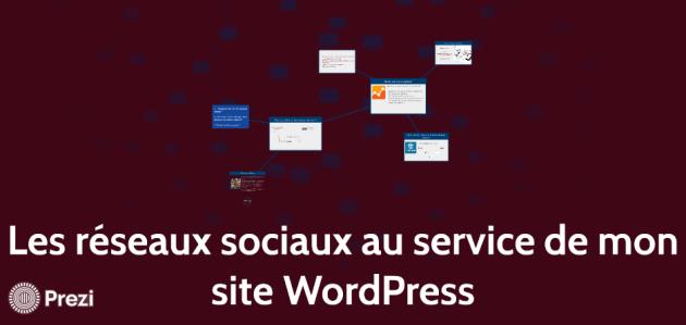 Slides Jessy Diandra WordCamp Bordeaux 2017 - Les réseaux sociaux au service de mon site