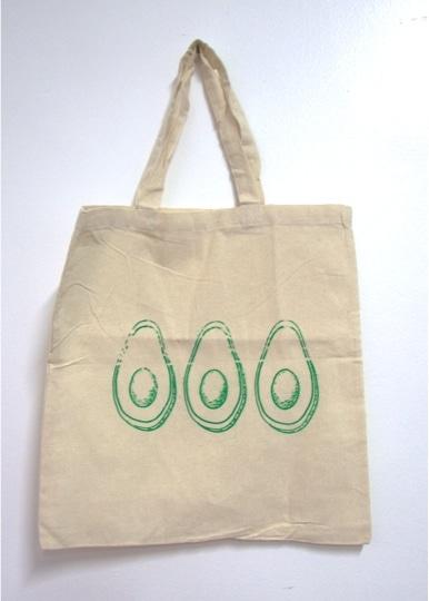 Hand-printed Tote Bags by Kavitha Balasingham