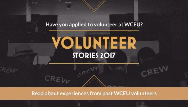 Read about experiences from past WordCamp Europe volunteers — Photo by Vladimir Kaladan Petkov