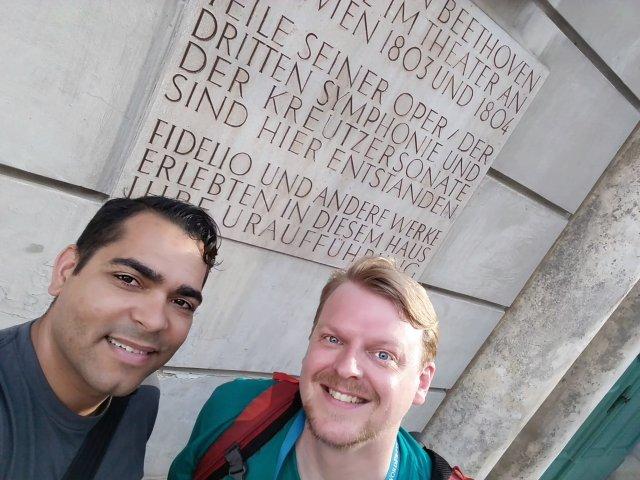 David & Phillip at WordCamp Europe Vienna 2016