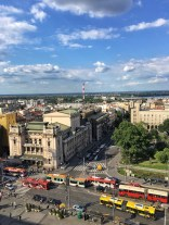 Belgrade city centre and a look to National Opera house