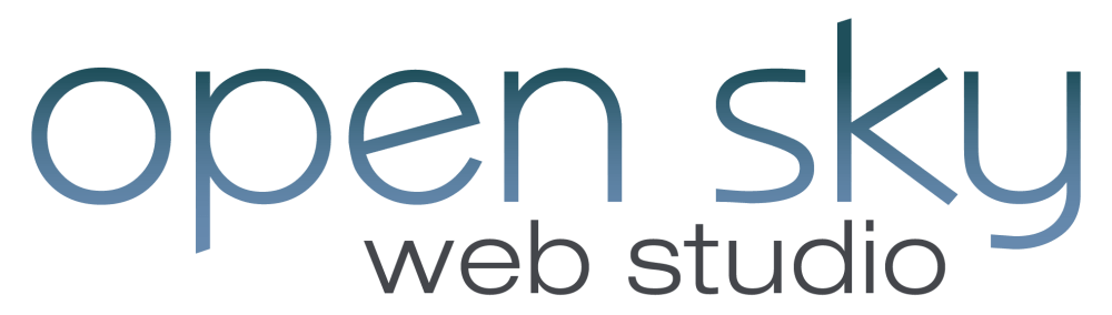 Open Sky Web Studio Logo