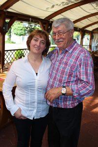 Dobrinka und Mirko Stjepanovic, Hotel Restaurant Jetenburger Hof