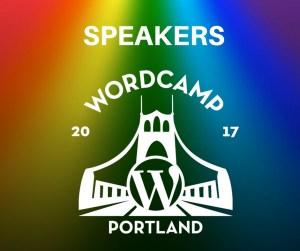 WordCamp Portland Speaker