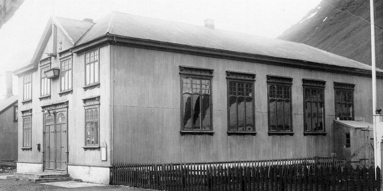 Templarahúsið á Ísafirði, byggt árið 1905.