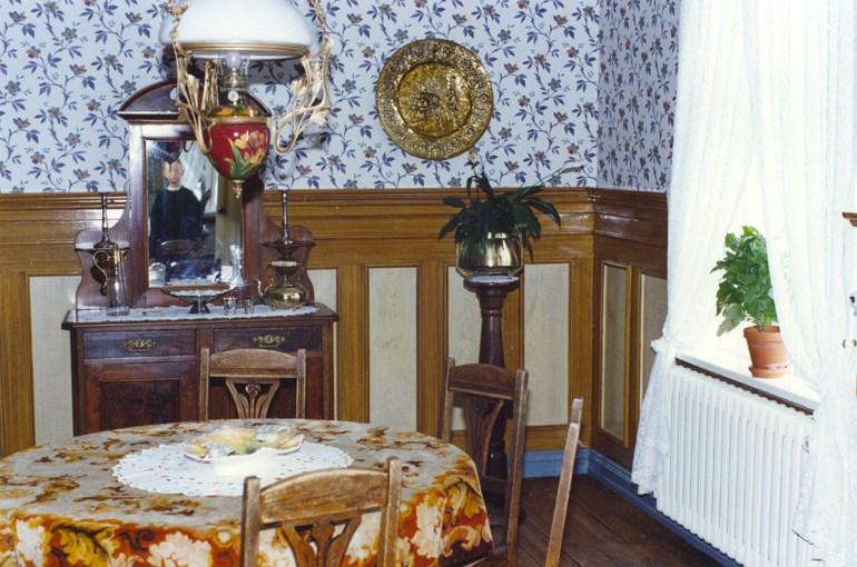 Borðstofan í Sigurhæðum árið 1995.