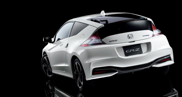 2017 Honda CR-Z rear view