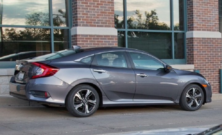 2017 Honda Civic Sedan rear view