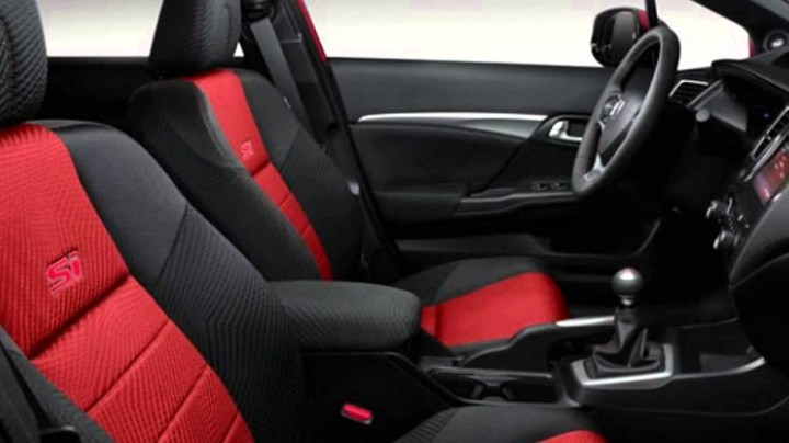 2017 Honda Civic Si interior